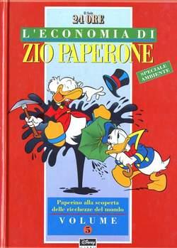Copertina ECONOMIA ZIO PAPERONE cartonata n.5 - ECONOMIA ZIO PAPERONE cartonata, WALT DISNEY PRODUCTION