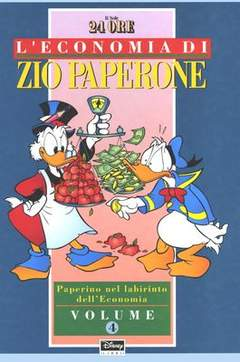 Copertina ECONOMIA ZIO PAPERONE n.4 - L'ECONOMIA DI ZIO PAPERON    4, WALT DISNEY PRODUCTION