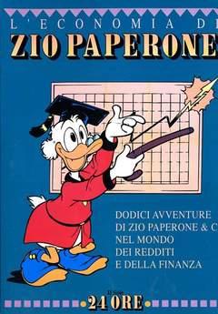 Copertina ECONOMIA ZIO PAPERONE n.2 - L'ECONOMIA DI ZIO PAPERONE, WALT DISNEY PRODUCTION