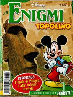 Copertina ENIGMI DI TOPOLINO n.1 - ENIGMI DI TOPOLINO           1, WALT DISNEY PRODUCTION