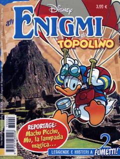 Copertina ENIGMI DI TOPOLINO n.2 - ENIGMI DI TOPOLINO           2, WALT DISNEY PRODUCTION