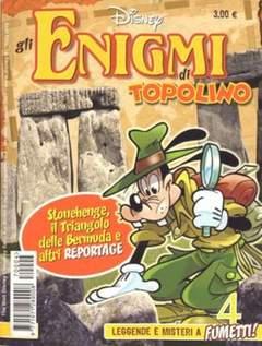 Copertina ENIGMI DI TOPOLINO n.4 - ENIGMI DI TOPOLINO           4, WALT DISNEY PRODUCTION