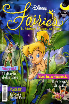 Copertina FAIRIES n.1 - FAIRIES                      1, WALT DISNEY PRODUCTION