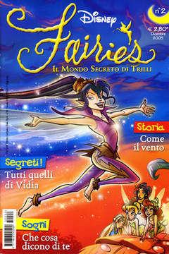 Copertina FAIRIES n.2 - FAIRIES                      2, WALT DISNEY PRODUCTION