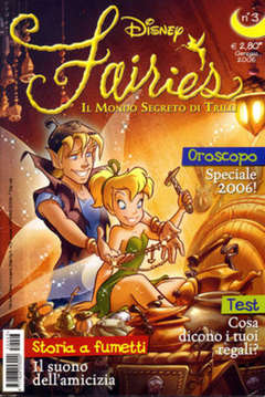 Copertina FAIRIES n.3 - FAIRIES                      3, WALT DISNEY PRODUCTION