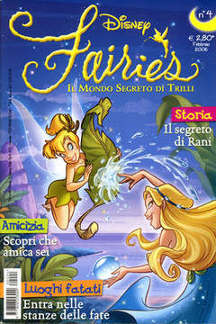 Copertina FAIRIES n.4 - FAIRIES                      4, WALT DISNEY PRODUCTION