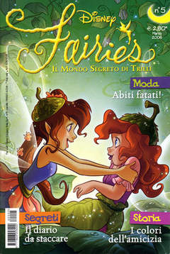 Copertina FAIRIES n.5 - FAIRIES                      5, WALT DISNEY PRODUCTION