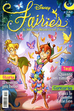 Copertina FAIRIES n.7 - FAIRIES                      7, WALT DISNEY PRODUCTION