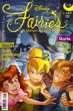 Copertina FAIRIES n.8 - FAIRIES                      8, WALT DISNEY PRODUCTION