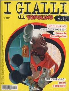 Copertina GIALLI DI TOPOLINO n.11 - GIALLI DI TOPOLINO          11, WALT DISNEY PRODUCTION