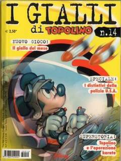 Copertina GIALLI DI TOPOLINO n.14 - GIALLI DI TOPOLINO          14, WALT DISNEY PRODUCTION