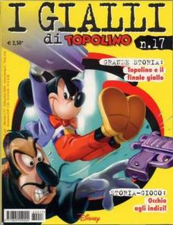 Copertina GIALLI DI TOPOLINO n.17 - GIALLI DI TOPOLINO          17, WALT DISNEY PRODUCTION