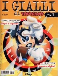 Copertina GIALLI DI TOPOLINO n.1 - GIALLI DI TOPOLINO           1, WALT DISNEY PRODUCTION