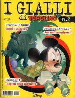 Copertina GIALLI DI TOPOLINO n.2 - GIALLI DI TOPOLINO           2, WALT DISNEY PRODUCTION