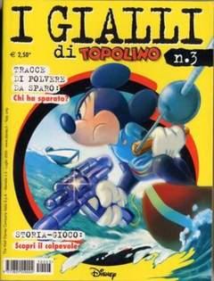 Copertina GIALLI DI TOPOLINO n.3 - GIALLI DI TOPOLINO           3, WALT DISNEY PRODUCTION