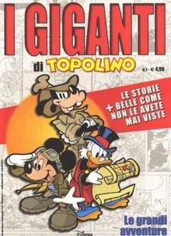 Copertina GIGANTI DI TOPOLINO n.1 - GIGANTI DI TOPOLINO          1, WALT DISNEY PRODUCTION