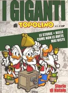 Copertina GIGANTI DI TOPOLINO n.3 - Storie di Natale, WALT DISNEY PRODUCTION