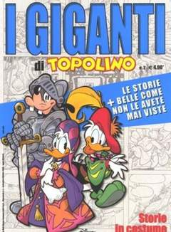 Copertina GIGANTI DI TOPOLINO n.2 - Storie in costume, WALT DISNEY PRODUCTION