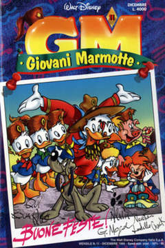 Copertina GIOVANI MARMOTTE n.11 - GIOVANI MARMOTTE            11, WALT DISNEY PRODUCTION