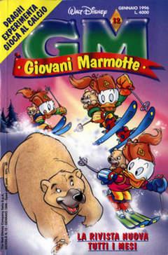 Copertina GIOVANI MARMOTTE n.12 - GIOVANI MARMOTTE            12, WALT DISNEY PRODUCTION