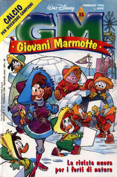 Copertina GIOVANI MARMOTTE n.13 - GIOVANI MARMOTTE            13, WALT DISNEY PRODUCTION