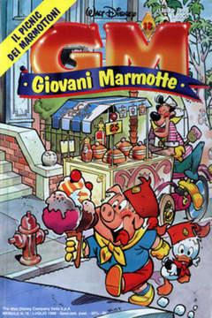 Copertina GIOVANI MARMOTTE n.18 - GIOVANI MARMOTTE            18, WALT DISNEY PRODUCTION