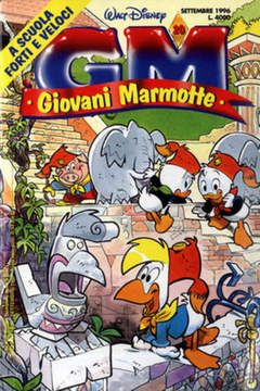 Copertina GIOVANI MARMOTTE n.20 - GIOVANI MARMOTTE            20, WALT DISNEY PRODUCTION