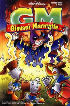 Copertina GIOVANI MARMOTTE n.26 - GIOVANI MARMOTTE            26, WALT DISNEY PRODUCTION