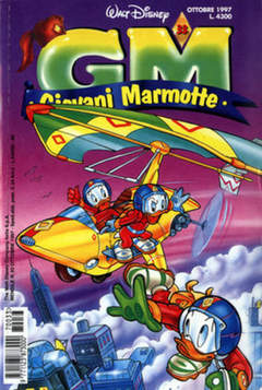 Copertina GIOVANI MARMOTTE n.33 - GIOVANI MARMOTTE            33, WALT DISNEY PRODUCTION