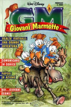 Copertina GIOVANI MARMOTTE n.1 - GIOVANI MARMOTTE             1, WALT DISNEY PRODUCTION