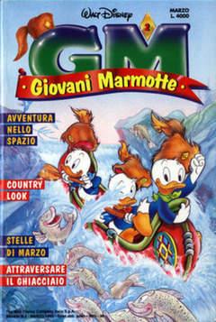 Copertina GIOVANI MARMOTTE n.2 - GIOVANI MARMOTTE             2, WALT DISNEY PRODUCTION