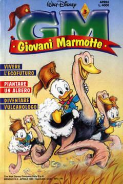 Copertina GIOVANI MARMOTTE n.3 - GIOVANI MARMOTTE             3, WALT DISNEY PRODUCTION