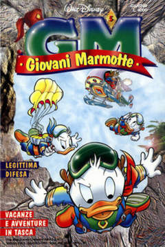 Copertina GIOVANI MARMOTTE n.5 - GIOVANI MARMOTTE             5, WALT DISNEY PRODUCTION