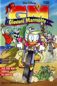 Copertina GIOVANI MARMOTTE n.7 - GIOVANI MARMOTTE             7, WALT DISNEY PRODUCTION
