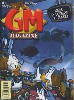 Copertina GM MAGAZINE n.1 - GM MAGAZINE                  1, WALT DISNEY PRODUCTION