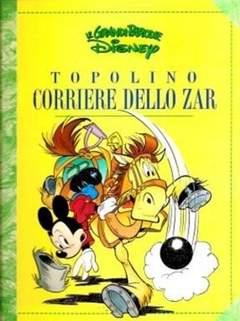 Copertina GRANDI PARODIE n.36 - Topolino corriere dello Zar, WALT DISNEY PRODUCTION