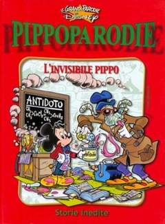 Copertina GRANDI PARODIE n.77 - L'invisibile Pippo, WALT DISNEY PRODUCTION