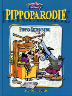 Copertina GRANDI PARODIE n.78 - Pippo Gutenberg, WALT DISNEY PRODUCTION