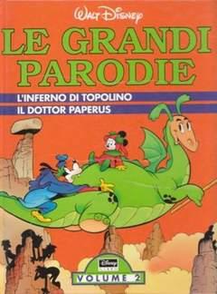 Copertina GRANDI PARODIE VOLUMI n.2 - L'Inferno di Topolino - Il dottor Paperus, WALT DISNEY PRODUCTION