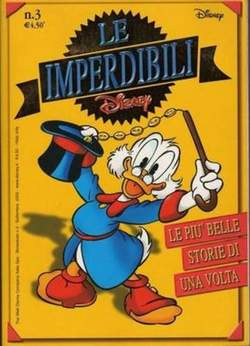 Copertina IMPERDIBILI n.3 - LE PIU BELLE STORIE DI UNA VOLTA, WALT DISNEY PRODUCTION