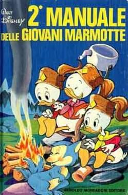 Copertina MANUALI n.2 - MANUALE DELLE GIOVANI MARMOTTE 2, WALT DISNEY PRODUCTION