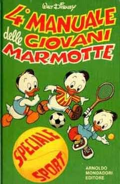 Copertina MANUALI n.4 - MANUALE DELLE GIOVANI MARMOTTE 4, WALT DISNEY PRODUCTION