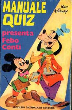 Copertina MANUALI n.9 - MANUALE QUIZ, WALT DISNEY PRODUCTION