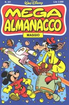 Copertina MEGA n.341 - MEGA                       341, WALT DISNEY PRODUCTION