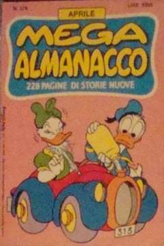 Copertina MEGA n.376 - MEGA                       376, WALT DISNEY PRODUCTION