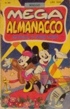 Copertina MEGA n.389 - MEGA                       389, WALT DISNEY PRODUCTION