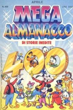 Copertina MEGA n.400 - MEGA                       400, WALT DISNEY PRODUCTION