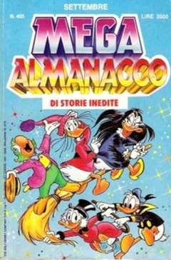 Copertina MEGA n.405 - MEGA                       405, WALT DISNEY PRODUCTION