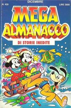Copertina MEGA n.420 - MEGA                       420, WALT DISNEY PRODUCTION