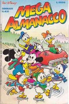 Copertina MEGA n.421 - MEGA                       421, WALT DISNEY PRODUCTION